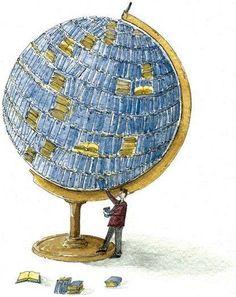 Svijet pripada onima koji čitaju. ~ Rick Holland #reading #books #knjige #čitanje