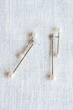 ピアス(shingo matsushita) pearl earrings