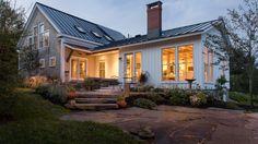 Cortland Barn Farmhouse, Freeport , Maine   Whitten Architects
