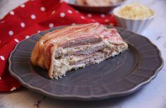 Egy finom Sonkás-sajtos rakott csirkemell ebédre vagy vacsorára? Sonkás-sajtos rakott csirkemell Receptek a Mindmegette.hu Recept gyűjteményében! Poultry, French Toast, Salads, Sandwiches, Bacon, Turkey, Food And Drink, Lunch, Snacks