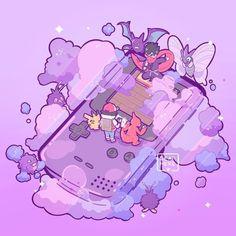 Pokemon Luna, Pokemon Red, Pokemon Fan Art, Pokemon Cards, Nintendo Pokemon, Pokemon Fusion, Cool Pokemon Wallpapers, Cute Pokemon Wallpaper, Kawaii Wallpaper