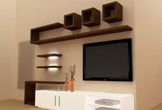 Home Decorating Style 2019 for Easy Living Room Wall Cabinet Design Ideas Interior Decor Home, you can see Easy Living Room Wall Cabinet Design Ideas Interior Decor Home and more pictures for Home Interior Designing 2019 at Home Design Ideas Wall Unit Designs, Living Room Tv Unit Designs, Tv Wall Design, Lcd Unit Design, Simple Tv Unit Design, Bedroom Tv Unit Design, Tv Unit Bedroom, Bedroom Tv Wall, Simple Designs