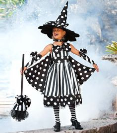 spooky stripes witch costume-Chasing-fireflies