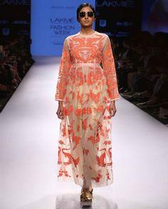 Blush Peach Applique Dress