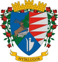 The Coat-of-Arms of the Town of Nyírlugos [*** ¤]