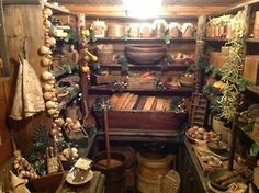 A glorious old-fashioned root cellar