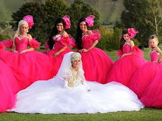 Ugly Bridesmaid Dresses - Worst Crazy Bridesmaid Dresses - Real Beauty