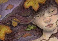 "Daily Paintworks - ""Good Bye Summer"" - Original Fine Art for Sale - © Lisa Ferguson"