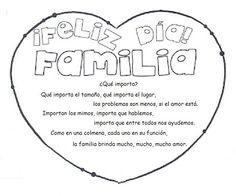 10 Mejores Imágenes De Día De La Familia Kids Dia De Y Family Day