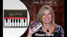 How to make a Piano Card featuring Stampin Up