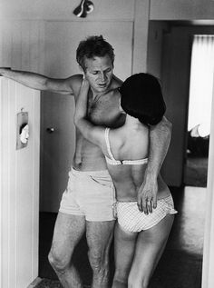 Steve McQueen: KING OF COOL Steve McQueen and his wide, Neile Adams, at home, Holywood, CA, 1963 photo © John Dominis / Time Inc. All Rights Reserved. >> http://www.yatzer.com/Steve-McQueen-KING-OF-COOL-ATLAS-Gallery-London#