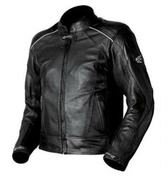 Black AGV Sport Breeze Leather Motorcycle Jacket. You can get it for 299USD only at Lopeholt.com.