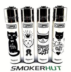 £7.99 GBP - Clipper Lighters 4 Set - I Love My Cat - Pets Lover Of Cats - Xmas Gift - X4 Pcs #ebay #Collectibles