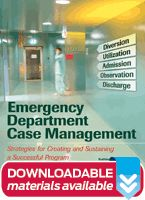Implement, maintain, or evolve your ED case management program with this new and comprehensive guide.