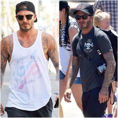 David Beckham usa bastante também.