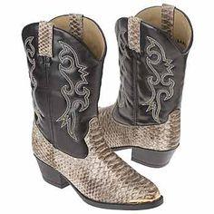 Laredo Snake Bit Tod/Pre Boots (Black/White) - Kids' Boots - 13.0 M