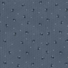 Buggy Barn Blue Floral Quilting Fabric   Half by PrimitiveQuilting, $5.50