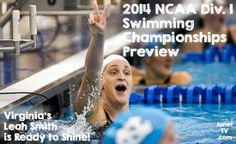 2014 NCAA D-I Women's Swimming Championship Preview