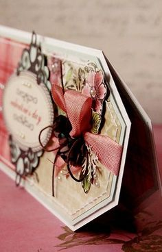 Walentynka Scrapbooking, Gift Wrapping, Gifts, Gift Wrapping Paper, Presents, Scrapbooks, Gifs, Gift Packaging, Memory Books