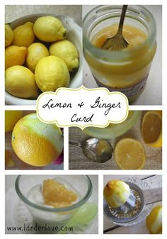 Lemon And Ginger Curd