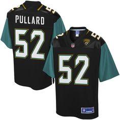 Hayes Pullard Jacksonville Jaguars NFL Pro Line Player Jersey - Black
