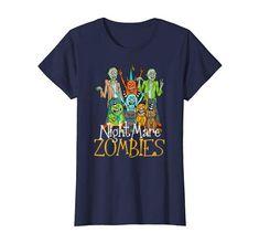 Halloween Nightmare Zombies T Shirt Women Zombie T Shirt, Apparel Design, Zombies, Halloween, Mens Tops, Stuff To Buy, Shirts, Women, Products