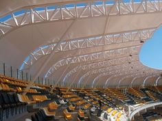 Grandstand Canopy. Stadium in Mexico