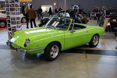 1968 Fiat 850 Sport Spider my second car