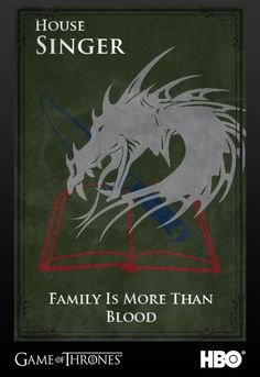 Supernatural: Bobby Singers Family Crest, depicted in the Game of Thrones universe. The gray dragon symbolizes Bobby, the book his knowledge and his knife, his solid will to protect those around him. Game Of Thrones Houses, Hbo Game Of Thrones, Virginia Woolf, Demon Trap, Destiel, Johnlock, Supernatural Fan Art, Bobby Singer, Crowley