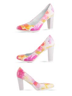 Kwieciste półbuty Eksbut na wiosnę :)  Cena/price: 276.00 PLN #eksbut #eksbutstyle #shoes #boots #buty #obuwie #spring #trendy #moda #fashion #women #kobieta