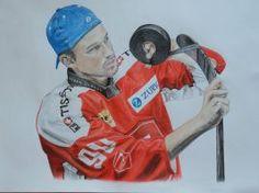 Hockey player (Switzerland) by LuccisArt