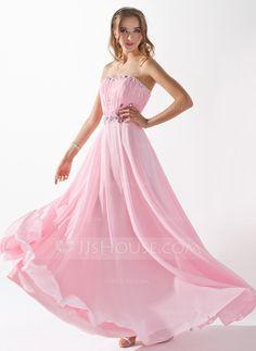 Evening Dresses - $132.99 - A-Line/Princess Sweetheart Floor-Length Chiffon Evening Dress With Ruffle Beading (017005597) http://jjshouse.com/A-Line-Princess-Sweetheart-Floor-Length-Chiffon-Evening-Dress-With-Ruffle-Beading-017005597-g5597?ver=xdegc7h0