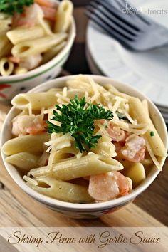 #Recipe // Garlic Shrimp Tortellini Toss | The Man With The Golden Tongs | Scoop.it