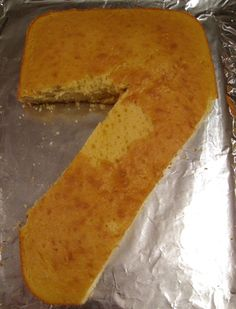 How to Make a Number Seven Cake