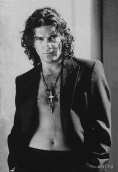 Antonio Banderas....  he was gorgeous in his prime.