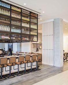 Modern bar design at the Renaissance airport Atlanta hotel on Thou Swell