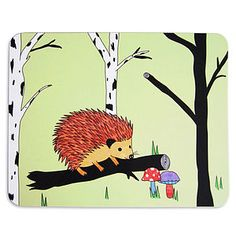 Happy Hedgehog Placemat Or Set