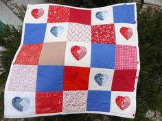 Frühchendecke Herzen Hedi Quilts, Blanket, Quilt Sets, Blankets, Log Cabin Quilts, Cover, Comforters, Quilting, Quilt