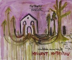 Imminent Mutation, Courtesy Fabrice Hyber & Galerie N athalie Obadia Paris/Bruxelles © Marc Domage Fabrice Hyber : Mutations acquises | Mu-inthecity.com Fabrice Hyber, Paris, Painting, Montmartre Paris, Painting Art, Paris France, Paintings, Painted Canvas, Drawings