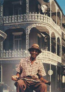 George Lewis, one of the great clarinetists, was born in the French Quarter of New Orleans