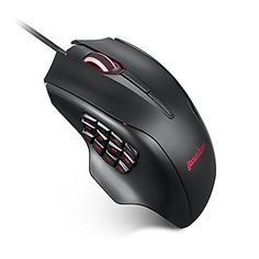 Perixx MX-3100  MMO Gaming Mouse - 12000 DPI - 19 Programmable button - 12 Th