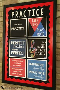 Music teachers- looking for music bulletin boards ideas & music classroom decorations? This printable music posters set is for you! The motivational music quotes would motivate your music student while adding color to your music classroom, band room, orch Classroom Images, Music Classroom, Music Teachers, Classroom Door, Classroom Ideas, Future Classroom, Music Word Walls, Music Theory Games, Music Bulletin Boards