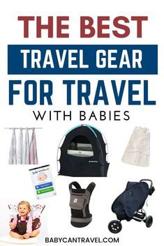 The best baby travel gear! We share our list of baby travel essentials that are worth bringing when traveling with a baby. #babytravelessentials #babytravelgear #travelwithbaby Packing List For Travel, New Travel, Family Travel, Travel Tips, Toddler Travel, Travel With Kids, Baby Travel, Airplane Kids, Flying With A Baby