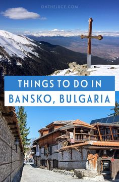 The top things to do in Bansko ski resort in Bulgaria – on and off the ski slopes Europe Travel Tips, European Travel, Travel Guides, Snowboarding, Skiing, Bansko Bulgaria, Scenic Photography, Night Photography, Photography Tips