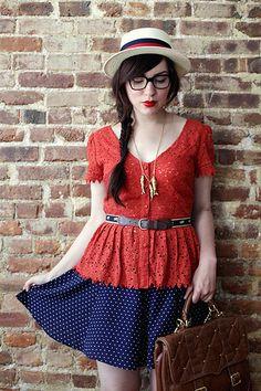 orange lace!