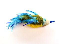 Bluetit Bird refill- Fits Purrs, Frenzy & Da Bird Cat Toys: Amazon.co.uk: Pet Supplies