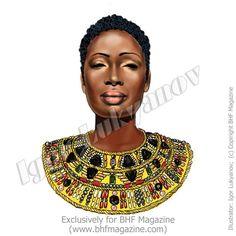Dessins de Mode Africaine