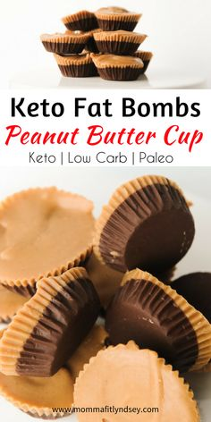 easy keto fat bombs sweet chocolate peanut butter for quick ketogenic diet snacks #keto #lowcarb #healthysnack #ketogenic #paleo