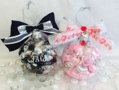 Personalized Flower Girl and Ring Bearer Ornament Set, Wedding Gifts by SpecialOrnaments on Etsy