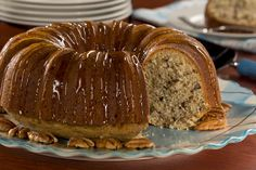 Caramel Nut Cake | MrFood.com
